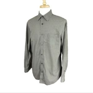 Banana Republic Men's Long Sleeve Shirt Large